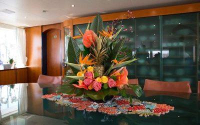 Super yacht flowers 0821