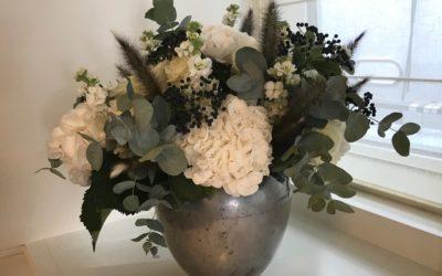Yacht-flowers-florist-silver vase