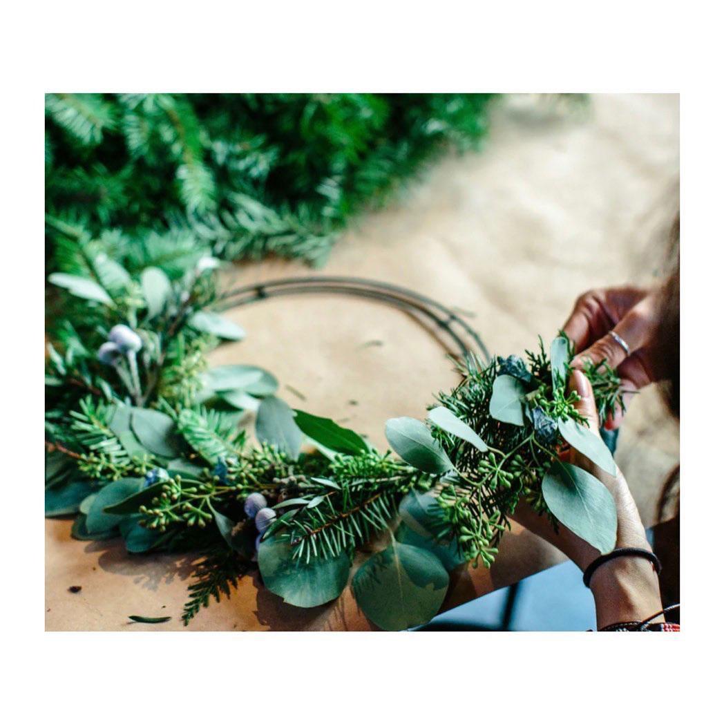 Christmas wreath workshop 2020